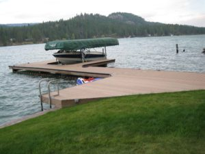 Sunrise Docks, Polson Montana